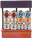 トミーテック ジオコレ 情景コレクション 情景小物040 お正月セット ジオラマ用品