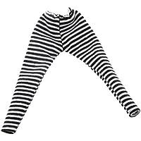 【ノーブランド品】 1/6 レギンス タイツ パンツ BJD ブライスドール 服アクセサリー 贈り物 全5色 - ブラック