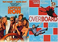 Kurt Russell & Goldie Hawn 2-DVD Comedy Bundle Over Board & Captain Ron [並行輸入品]