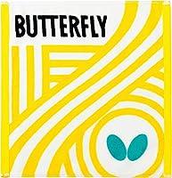 バタフライ(Butterfly) 卓球 タオル フレバル・ハンドタオル イエロー 76280