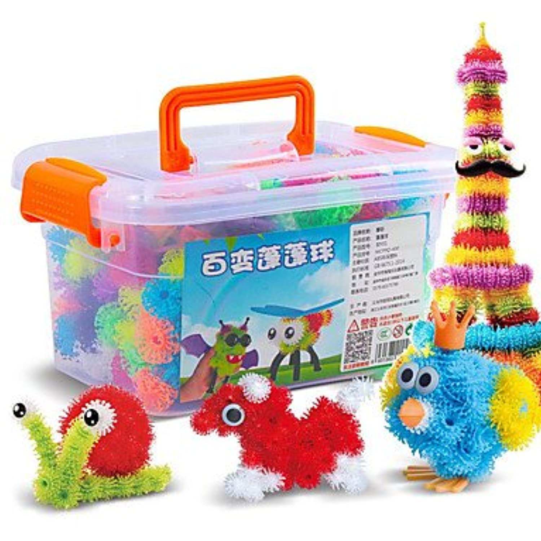 子供DIYおもちゃMagic Puffer Ball英語Alphabet Fun Learning Toyギフト