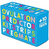 PREGMATE 40 Ovulation (LH) And 10 Pregnancy (HCG) Test Strips Predictor Kit (40 LH + 10 HCG)