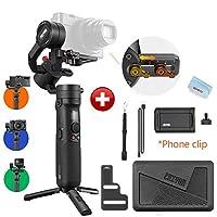 【Zhiyun正規代理】Zhiyun Crane M2ハンドヘルド3軸ジンバル汎用性スタビライザー、レンズなしカメラ,小型カメラ,スポーツカメラGopro,スマートフォンとの互換性