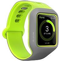 Apple Watch Series 3/2/ 1 (42mm) バンドケース i-BLASON アップルウォッチ 2層構造 ハイブリッド (TPU × ポリカーボネート) New Unity シリーズ プロテクティブ ケース(バンド一体型) 日本正規代理店品 【 グリーン 】
