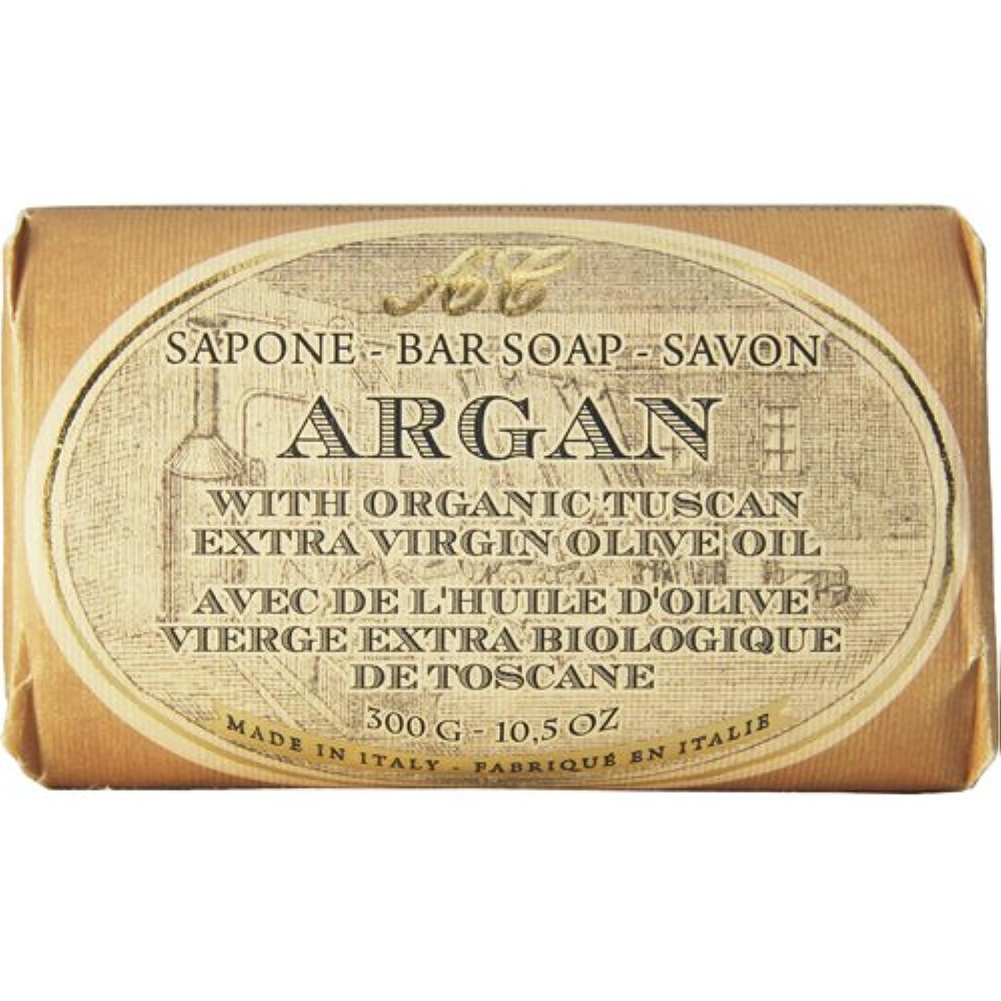 経験者論争の的サージSaponerire Fissi レトロシリーズ Bar Soap バーソープ 300g Argan アルガンオイル