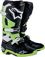 Alpinestars アルパインスターズ  2014年 Tech 10 テック10 オフロード ブーツ 黒緑/US12 (約30.5cm)