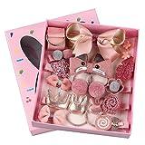 Pink crown Girls' Headdress set is a stylish Little girls' Baby Hairpin