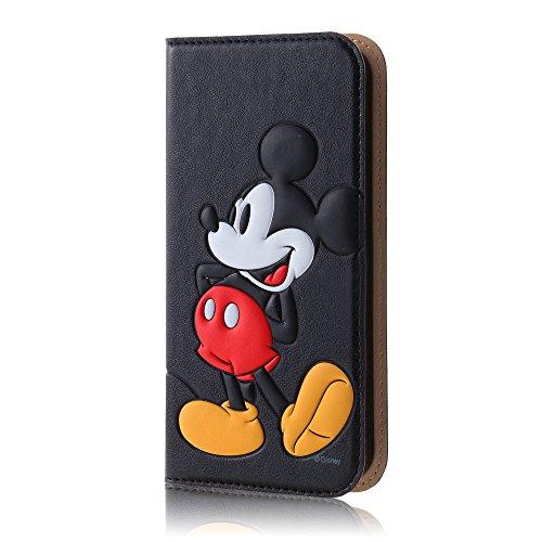 レイ・アウト iPhone SE/5s/5 ケース ディズニー 手帳型ケース ポップアップ ミッキーマウス RT-DP11J/MK