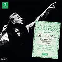 ICON - The late years (14CD) by Jean Martinon
