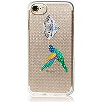 MRLab iPhone8 iPhone7 iPhone6s / 6 ジュエリー バード フェイク アクセサリー