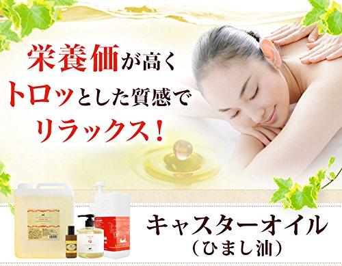 ひまし油300ml (キャスターオイル) エドガーケイシー療法に使用 マッサージオイル (頭皮ケア/ボディ用)