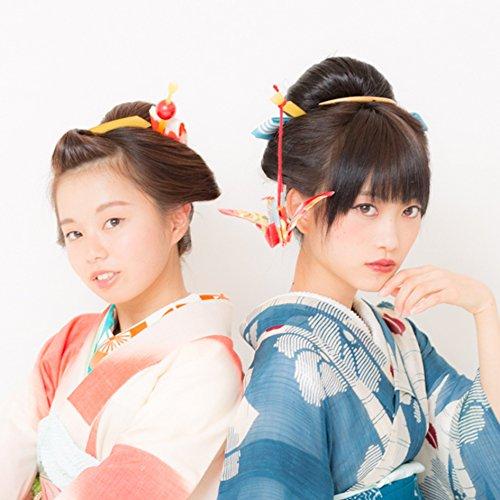 簡単10分!!日本髪が自分で結える魔法のキット『まるまげ』 (M, 自然な褐色)