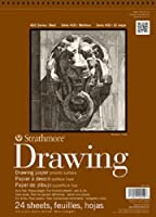 """Strathmore ((400-107 400 Series Drawing, Smooth Surface, 14""""x17"""", 24 Sheets [並行輸入品]"""
