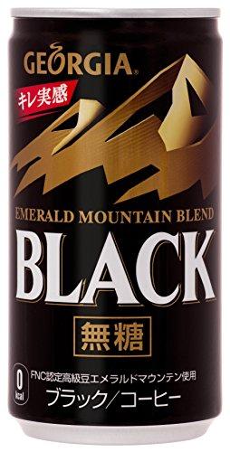 エメラルドマウンテンブレンド ブラック 缶 185ml×30本