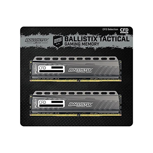 CFD販売  デスクトップPC用メモリ PC4-21300(DDR4-2666) 8GBx2枚 288pin (無期限保証)(Ballistix by Micron) W4U2666BMT-8G