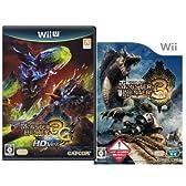 Nintendo Wii ソフト モンスターハンター3 [トライ] + Nintendo Wii U ソフト モンスターハンター3G [トライG] HD Ver.