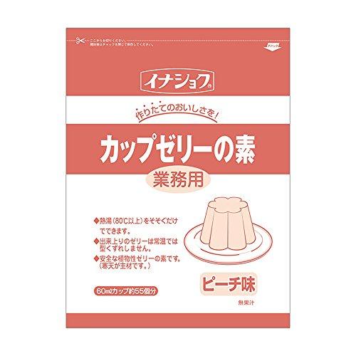 【常温】伊那食品 カップゼリーの素 ピーチ 600g 業務用 カップ ゼリーの素