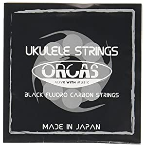 【ORCAS】 ウクレレ弦 セット OS-LGT LG (ライトゲージ Low-G ソプラノ コンサート用)