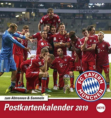 FC Bayern Muenchen 2019 Sammelkartenkalender