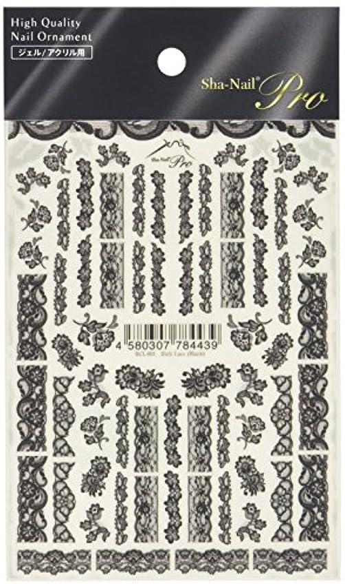 メルボルンいっぱい異常写ネイルプロ リッチレース ブラック