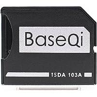 """BaseQi iSDA 高精度 アルミニウム製 MicroSD カード アダプター (Macbook Air 13"""" & Pro 13"""" 15""""(~mid 2012))"""