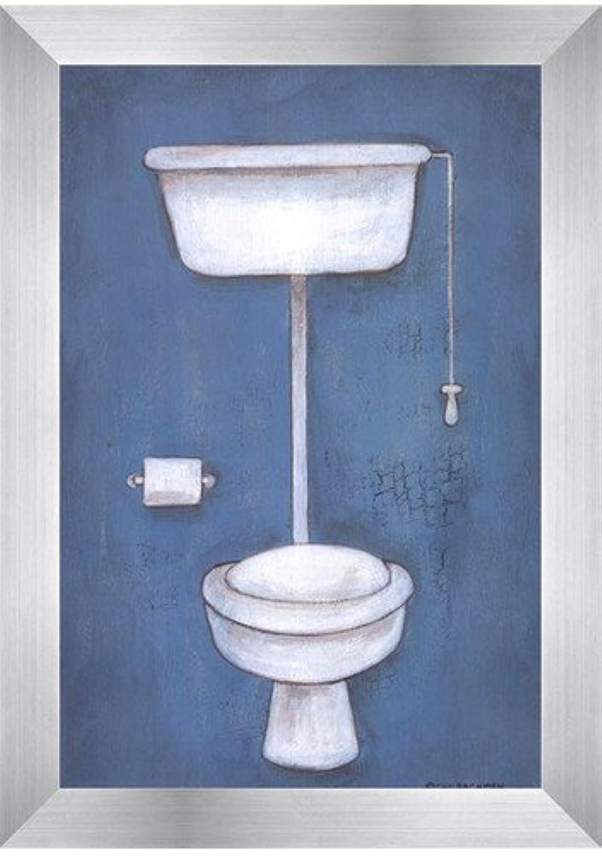 トイレby Cat Bachman – 6 x 9インチ – アートプリントポスター LE_663293-F9935-6x9