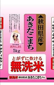 【精米】秋田県産 無洗米 あきたこまち 5kg 29年産