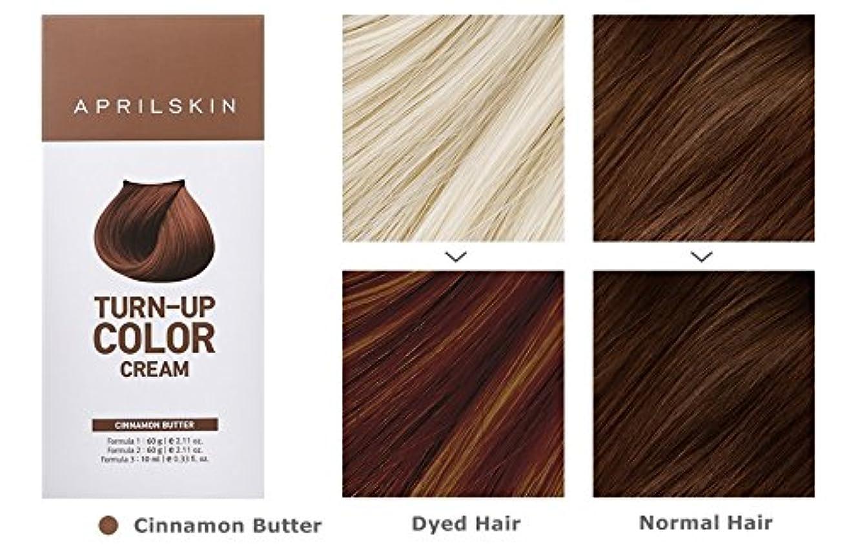 ブラウンクリーム気づくApril Skin Turn Up Color Cream Long lasting Texture Type Hair Dye エイプリルスキン ターンアップカラークリーム長持ちテクスチャタイプヘアダイ (紅)