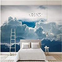 Xbwy カスタム壁画壁紙モダンな抽象空雲写真壁画リビングルームの寝室-200X140Cm