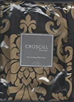 Croscill Home Collection Florence Chocolate and Tan Euro Sham