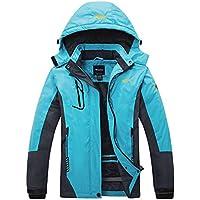 Wantdo Women's Winter Outdoor Sports Windproof Waterproof Fleece Ski Jacket