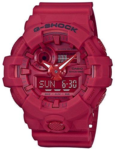 カシオCASIO 腕時計 G-SHOCK ジーショック 35th Anniversary RED OUT GA-735C-4AJR メンズ