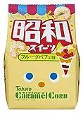 東ハト キャラメルコーン昭和スイーツフルーツパフェ味 77g×12袋