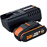 WORX WA3601 Battery & Charger Kit Powershare 20V 2.0Ah MAX Lithium-ion Battery & Charger Kit