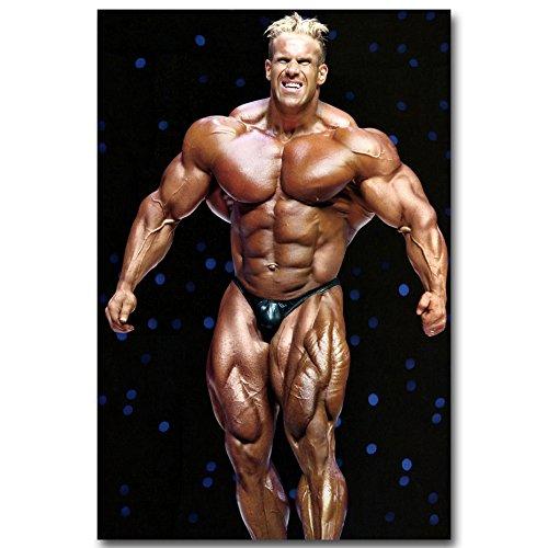 IFBBボディービルダーミスター・オリンピアシルクのポスター 24x36インチのフィットネス02 -ジェイ・カトラー [並行輸入品]