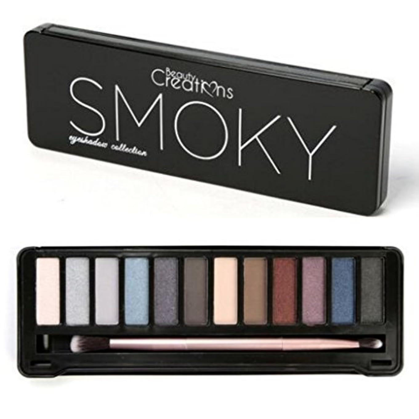 はさみ依存衛星BEAUTY CREATIONS Intense Eyeshadow Palette - Smoky (並行輸入品)