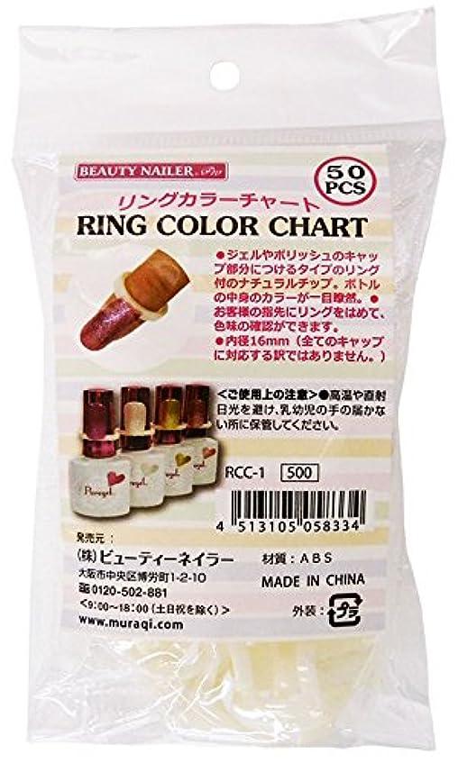 絶望サバント電話に出るビューティーネイラー ネイルアートパーツ RING COLOR CHART RCC-1