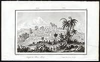 アンティークprint-java-boro bodo-temple-pl。29-aubert-danvin-rienzi-1836