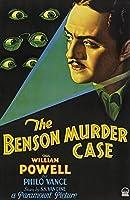 映画のポスターベンソン殺人事件(1930)アート映画のポスターフレーム、装飾が施された部屋、サイズ:30x42cm 最高の贈り物