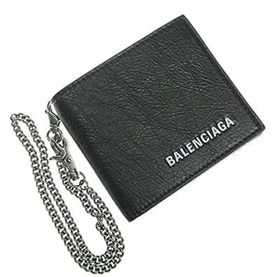 [BALENCIAGA(バレンシアガ)] 二つ折り財布(小銭入れ付き) EXPL SQ COIN WALCH / 540934 DB505 メンズ [並行輸入品]