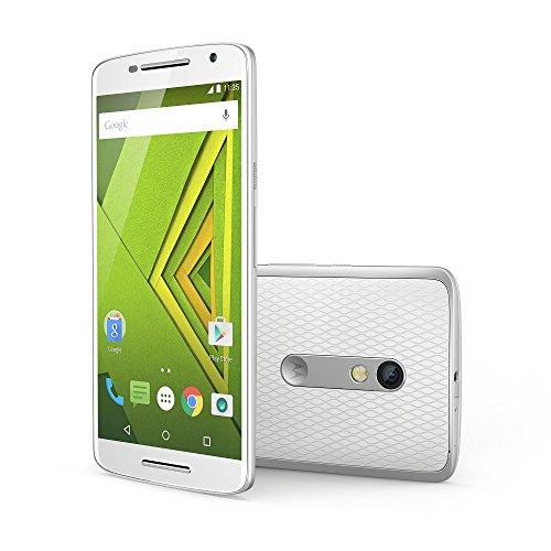 モトローラ  スマートフォン Moto X Play ホワイト ( Android / 5.5インチ / 2GB / 16GB / 撥水機能 / 21MPリアカメラ ) 国内正規代理店 AP3597AD1J4
