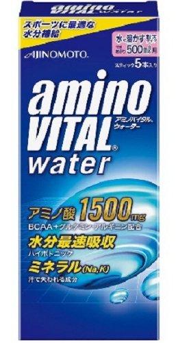 アミノバイタル ウォーター 500ml用 5本入 箱73.5g