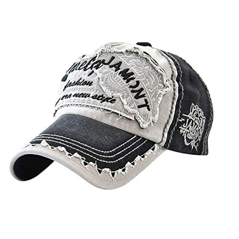 メンダシティウールひいきにするRacazing パッチワーク 野球帽 ヒップホップ メンズ 夏 登山 帽子メッシュ 可調整可能 プラスベルベット 棒球帽 UV 帽子 軽量 屋外 Unisex 鸭舌帽 Hat Cap