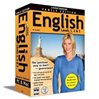 Instant Immersion English Level 1-2-3: Family Edition (English and French Edition) [並行輸入品]