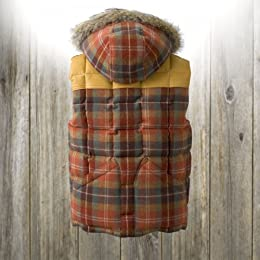 Canadian Vest (with Hood): Orange