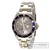 ROLEX(ロレックス) 16613SG 8Pダイヤモンド サブマリーナ 腕時計 ステンレス/K18YG メンズ (中古)