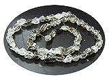 [ハーキマーダイヤモンド]Harkimer diamond 天然石 ビーズライン ナチュラルビーズ(原石のまま) hd-b-7-9