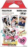 FUJIFILM インスタントカメラ チェキ用フィルム 10枚入 絵柄 (ミッキー&フレンズ) INSTAX MINI MIC WW 1
