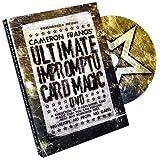 Ultimate Impromptu Card Magic by Cameron Francis & Big Blind Media - DVD by Cameron Francis and Big Blind Media [並行輸入品]