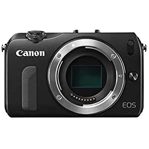 Canon ミラーレス一眼カメラ EOS M ボディ ブラック EOSMBK-BODY